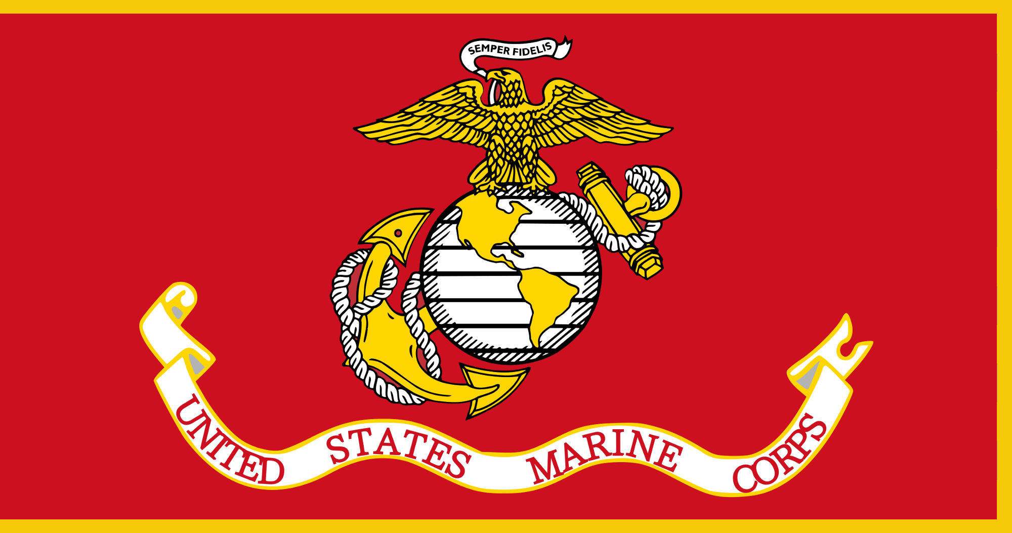 2000x1053 Fileflag Of The United States Marine Corps (With Fringe).png