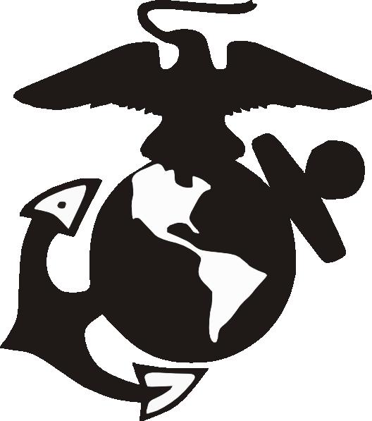 528x597 Marine Logo Clip Art