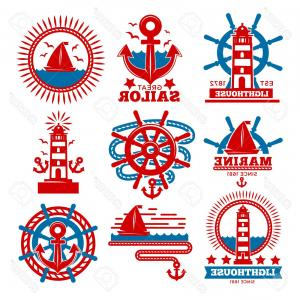 300x300 Photostock Vector Marine And Nautical Logo Templates Or Heraldic