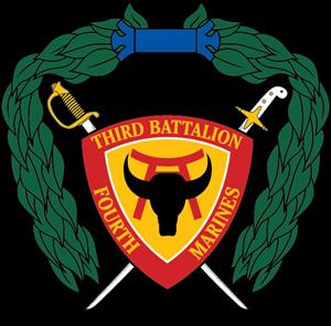 300x295 3rd Battalion 4th Marine Regiment Usmc Logo Vector (.eps) Free