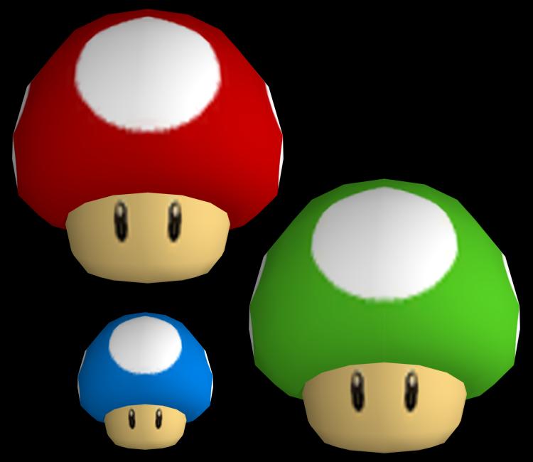 Mario Mushroom Vector