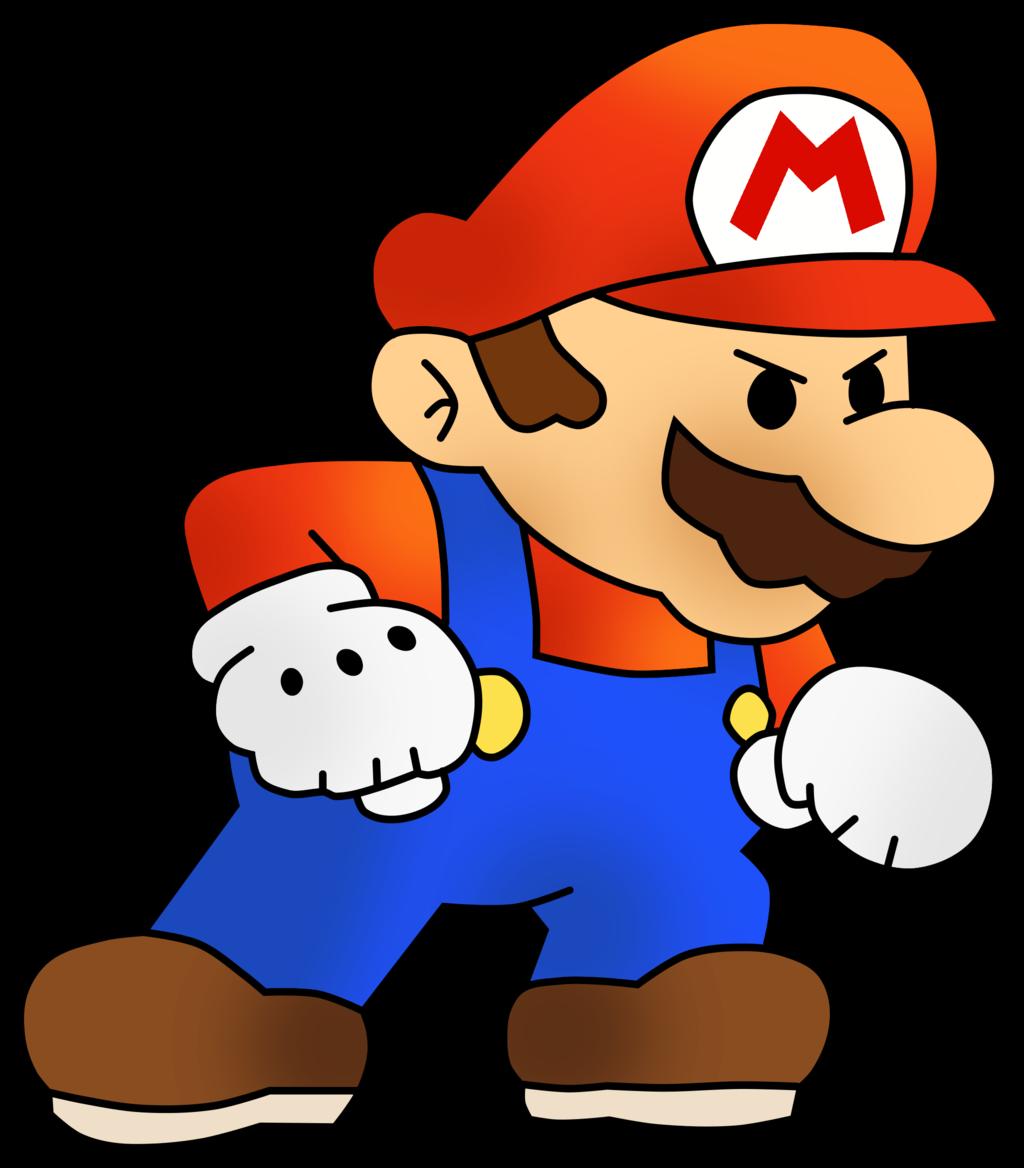 Mario Vector Art