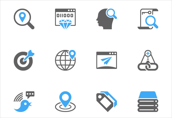 600x411 Seo And Marketing Icons