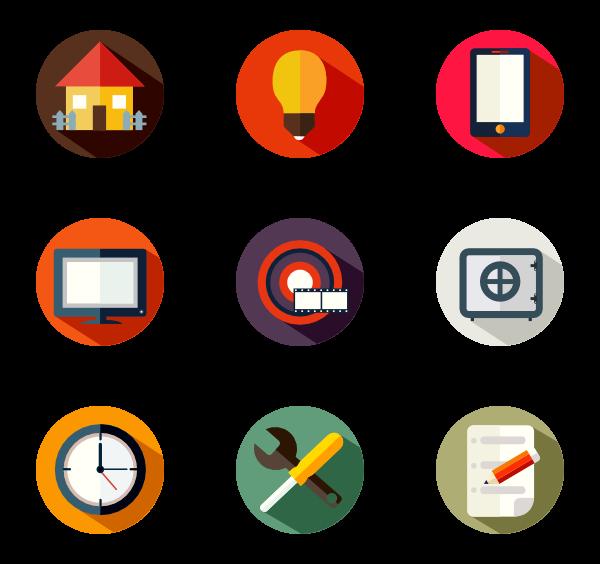 600x564 Marketing Icons