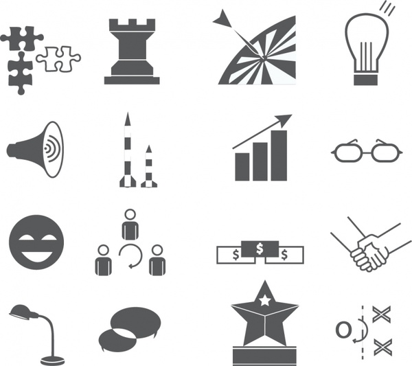 600x533 Marketing Icons Free Vector In Adobe Illustrator Ai ( .ai