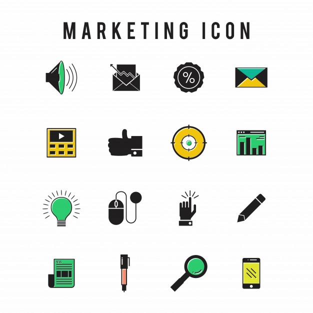 626x626 Marketing Icon Vector Free Download