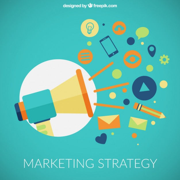 626x626 Marketing Strategy Icons Vector Free Download