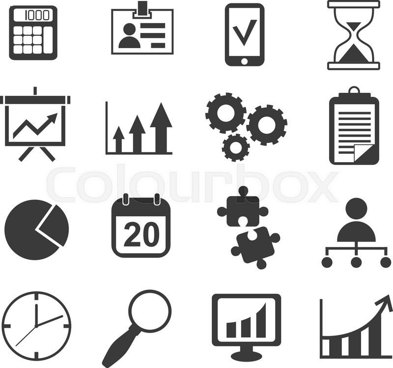 800x749 Simple Color Financial Management Reports Icon Business Analyst