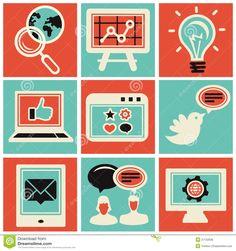 236x251 13 Best Icons Images Digital Marketing, Icon Set