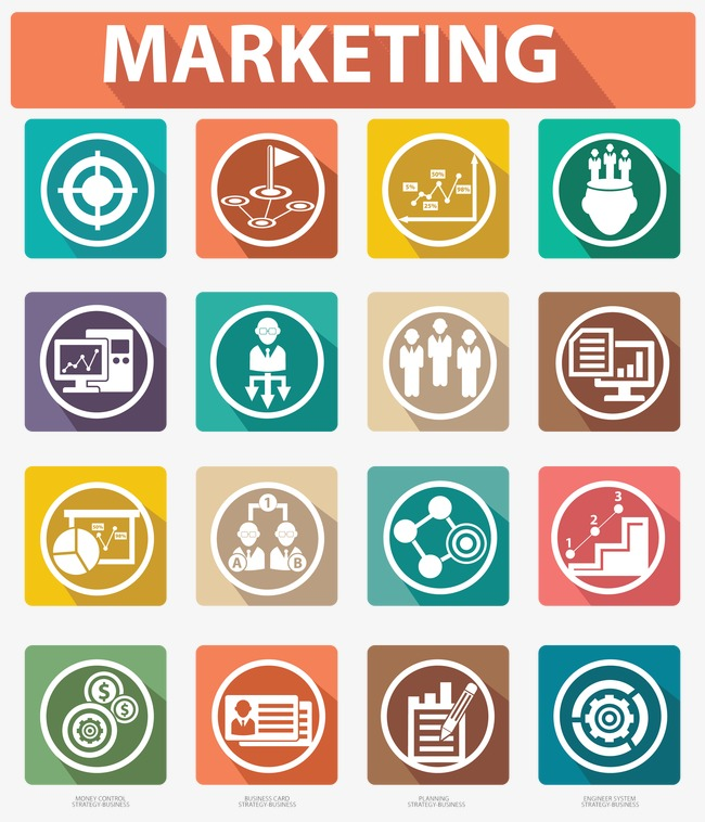 650x758 Business Marketing Icon, Market Icon, Business Icons Png And Psd