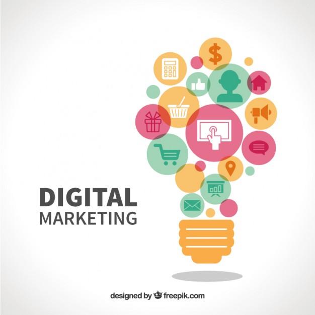 626x626 Digital Marketing Vector Free Download