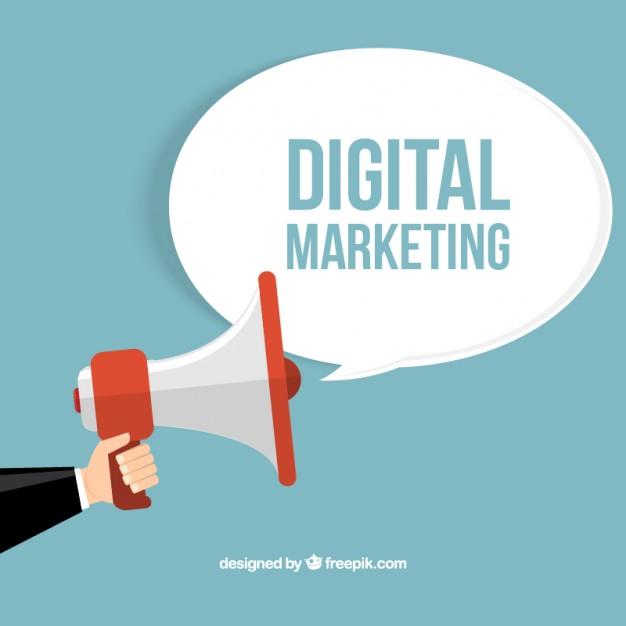 626x626 Digital Marketing Concept Vector Free Download