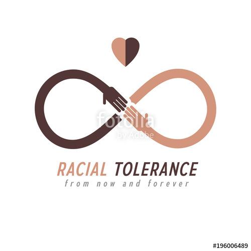 500x500 Racial Tolerance Between Different Nations Conceptual Symbol