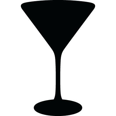 Martini Glass Vector Free