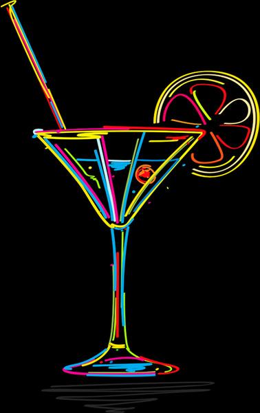 378x600 Delicate Martini Glass Vector Free Vector In Encapsulated