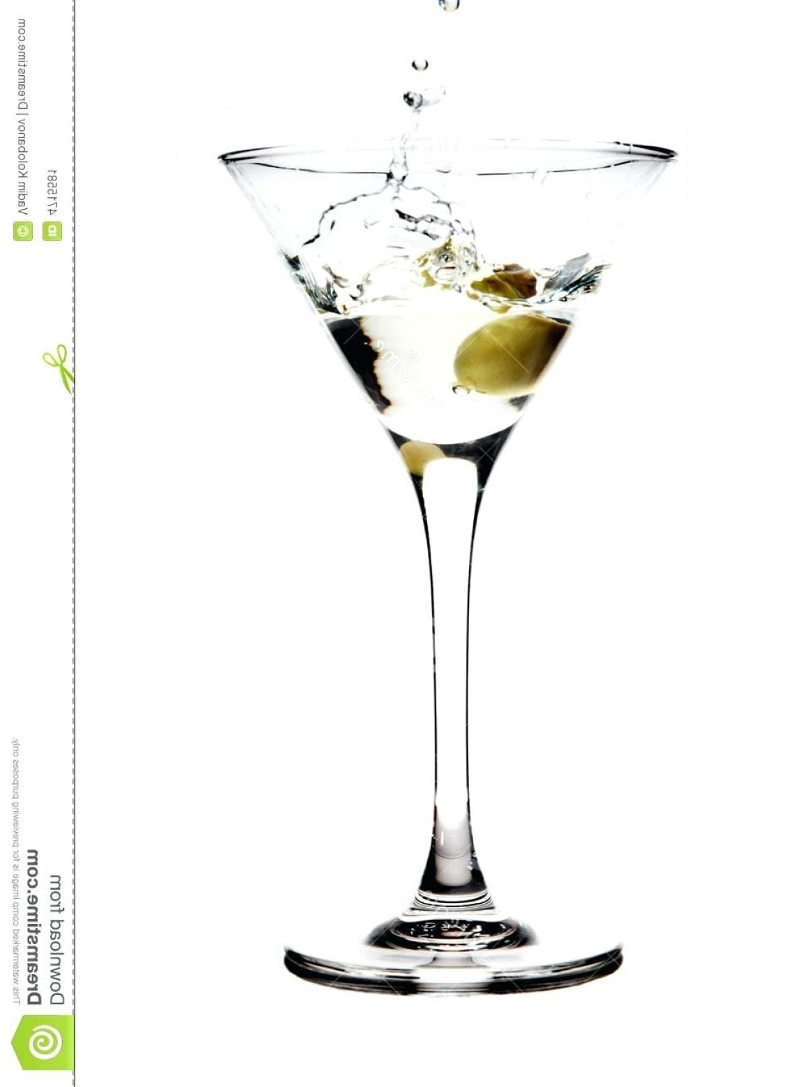 1148x1560 Martini Glas Splashing Olive Into A Glass Vector Png Clipart Free