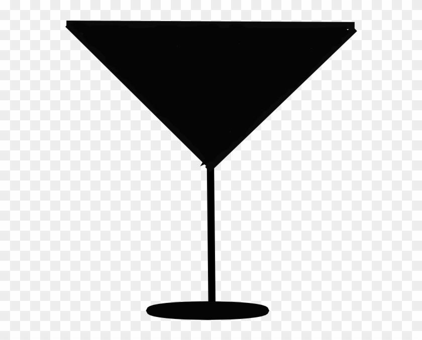 840x678 Martini Glass Silhouette Vector