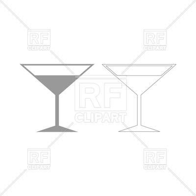 400x400 Martini Glass