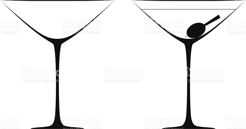 1024x538 Clipart Glasses Martini Glass
