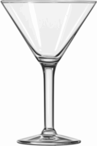 396x593 Cocktail Glass Martini Clip Art Free Vector In Open Office Drawing