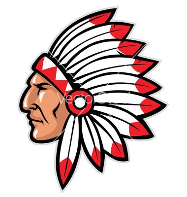 380x400 Indianmascot Indian Head Mascot Vector Indian Mascots In 2018
