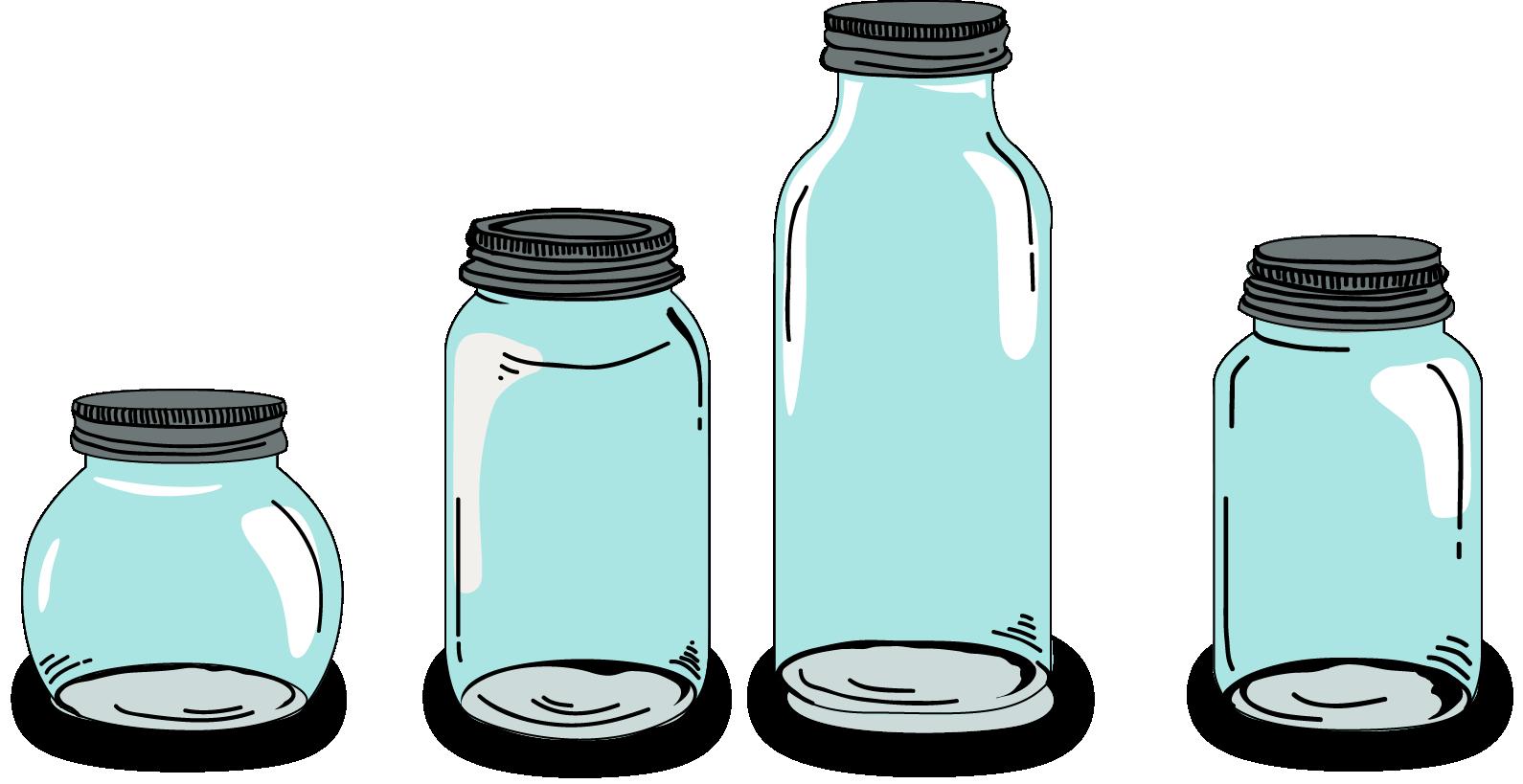 Mason Jar Vector Download at GetDrawings | Free download