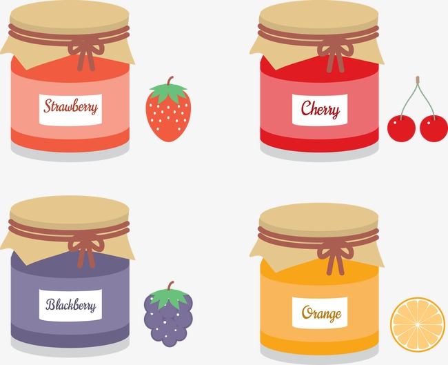 650x529 Vector Fruit Jam And Free Mason Jar, Fruit Vector, Fruit, Jam Png