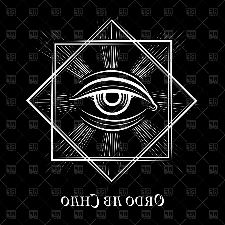 1440x1440 Eye Of Providence Masonic Symbol Vector Clipart Lazttweet