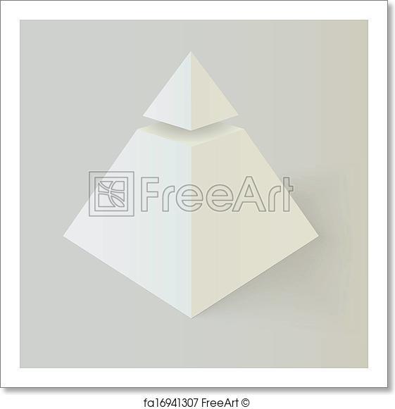 561x581 Free Art Print Of Illuminati Masonic Symbol. Masonic Pyramid