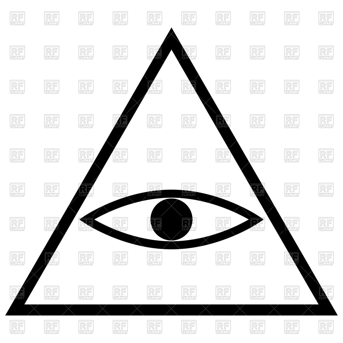 1200x1200 All Seeing Eye Icon