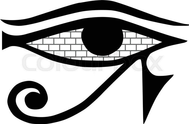 800x525 All Seeing Eye. Mason Sign On A White Background. Masonic Symbol