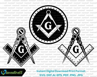 340x270 Masonic Svg Etsy