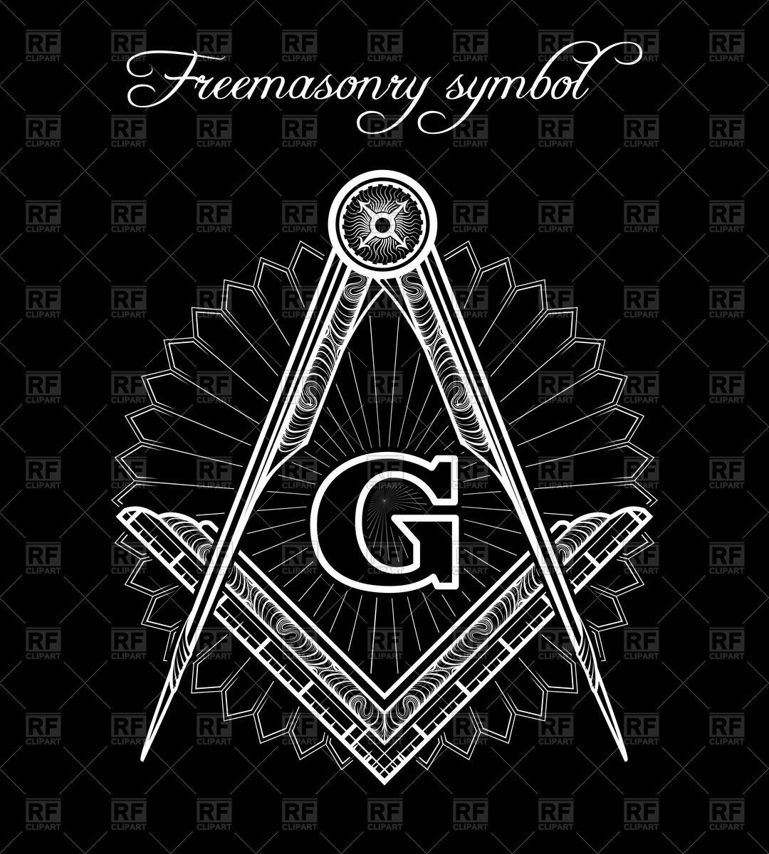 1080x1200 Masonic Symbol Vector Image Vector Artwork Of Signs, Symbols