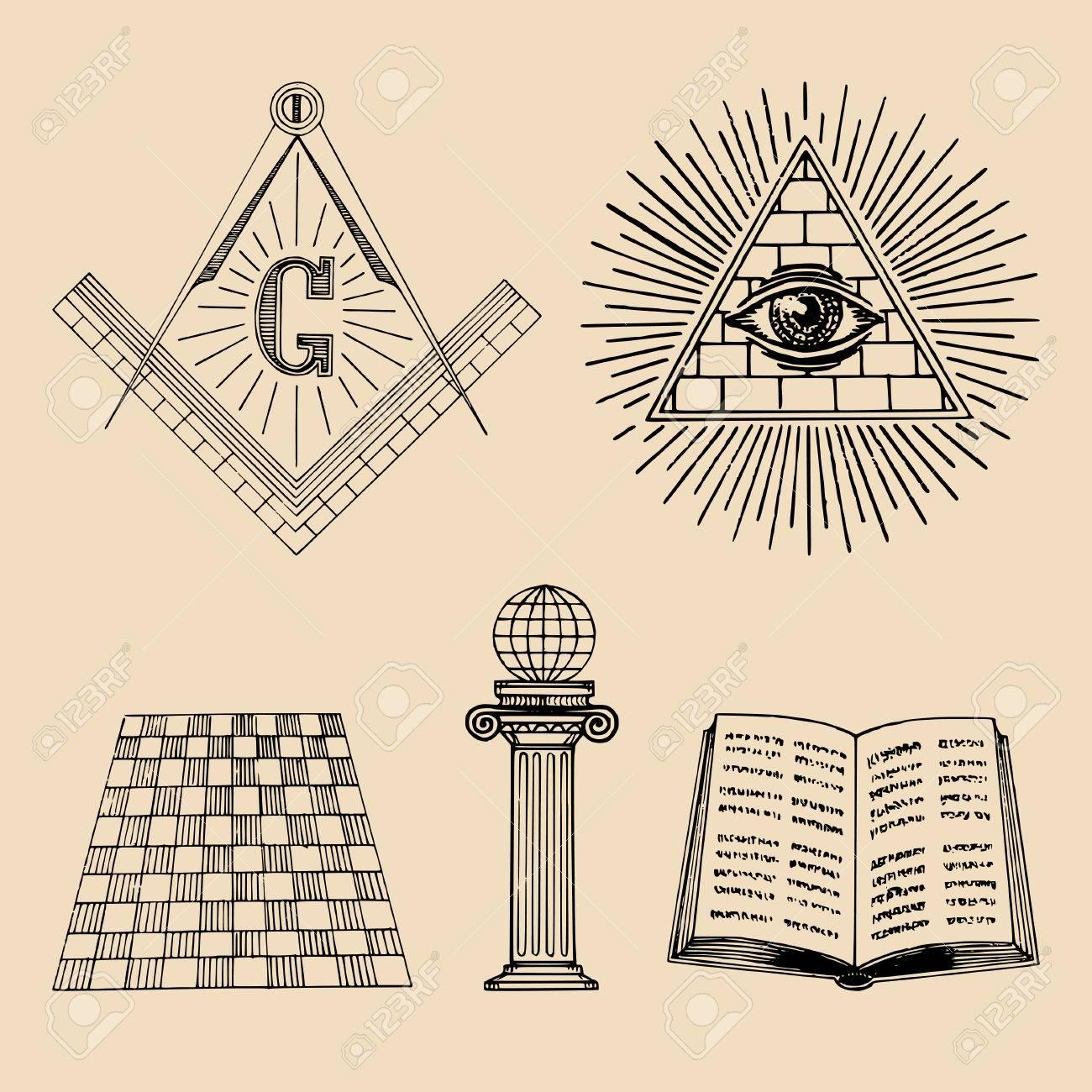 1300x1300 Collection Of Free Freemasonry Clipart Masonic Symbol. Download On