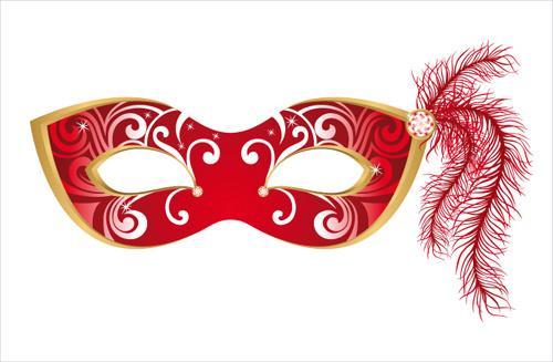 500x327 Venetian Mask Vector Free Free Vector Download (280 Free Vector