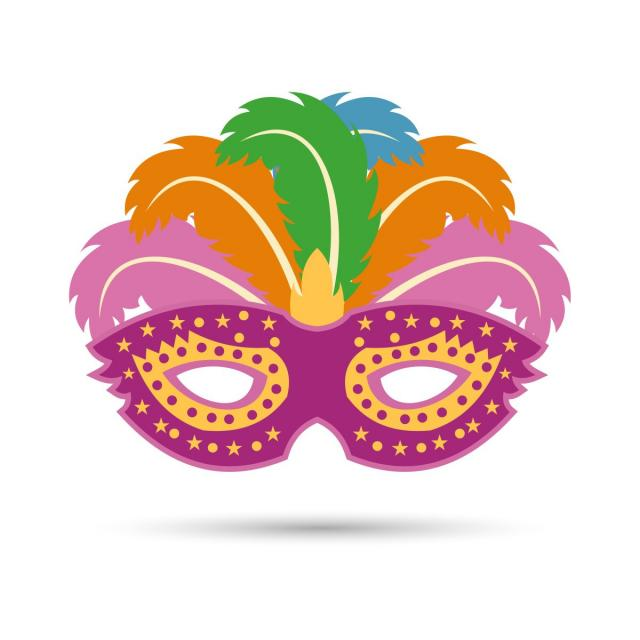 640x640 Carnival Mask Vector, Carnival, Mask, Masquerade Png And Vector