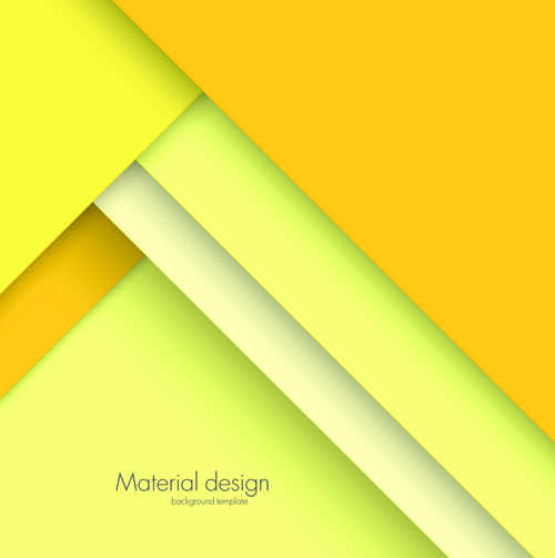 500x503 Colored Modern Material Design Vector Background 03 Free Download