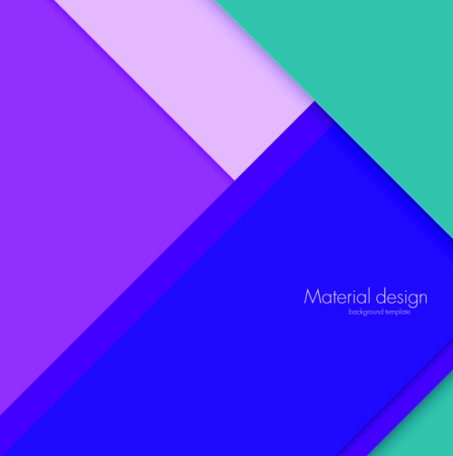 500x503 Colored Modern Material Design Vector Background 04 Free Download