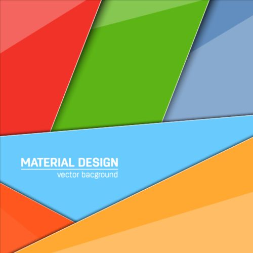 500x500 Modern Material Design Background Vector 05 Free Download