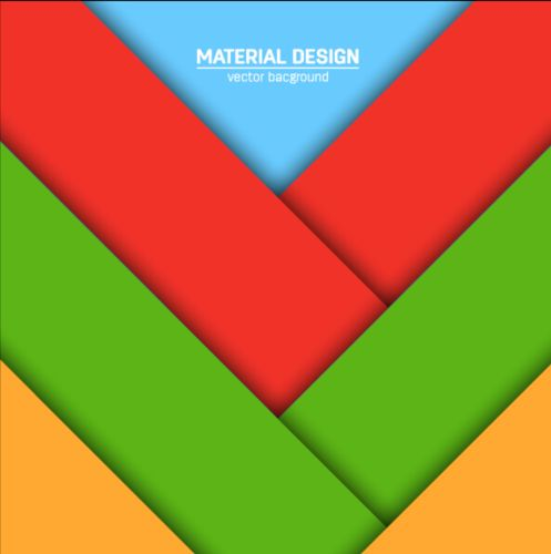 497x500 Modern Material Design Background Vector 07 Free Download