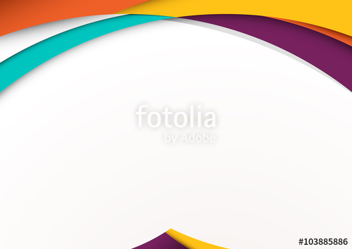 500x354 Modern Material Design Background. Vector Illustration. Stock