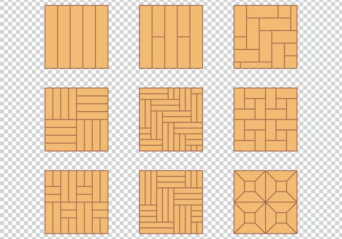 700x490 Wood Floor Pattern Material Design Set