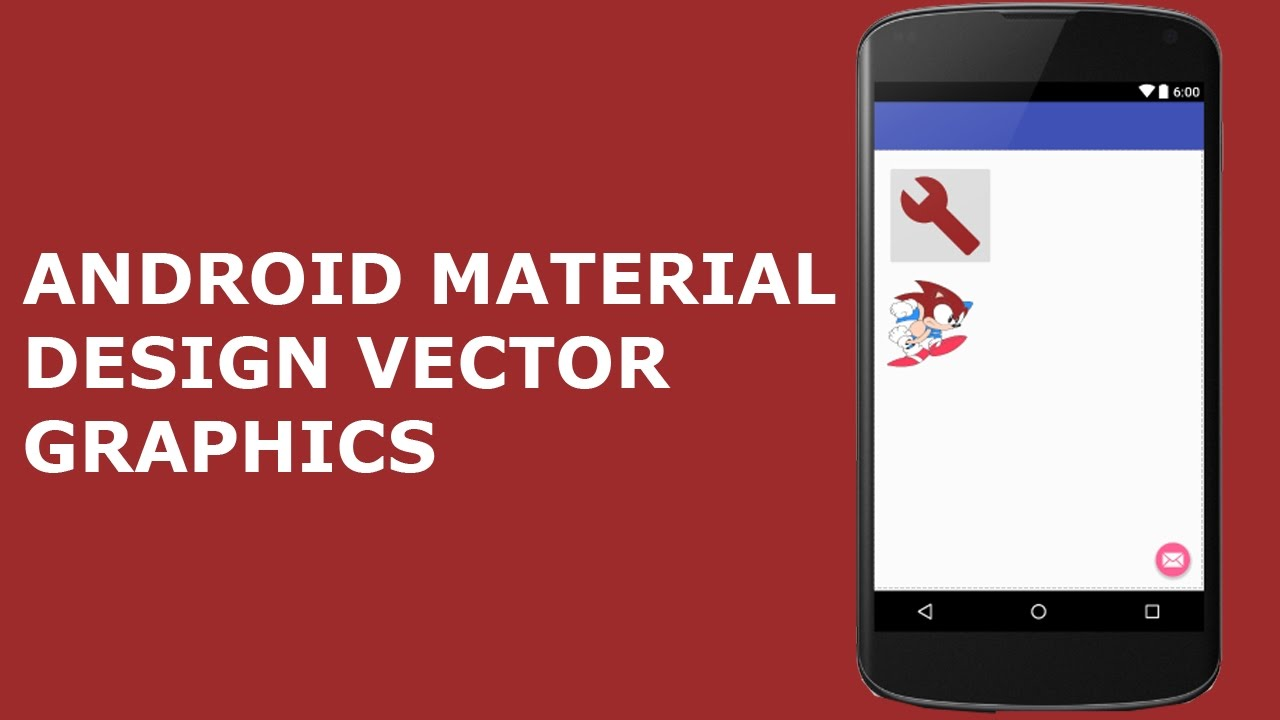 1280x720 Android Material Design Vector Graphics