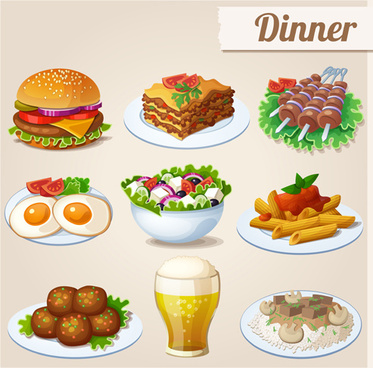 373x368 Food Icon Vector Free Vector Download (27,287 Free Vector) For