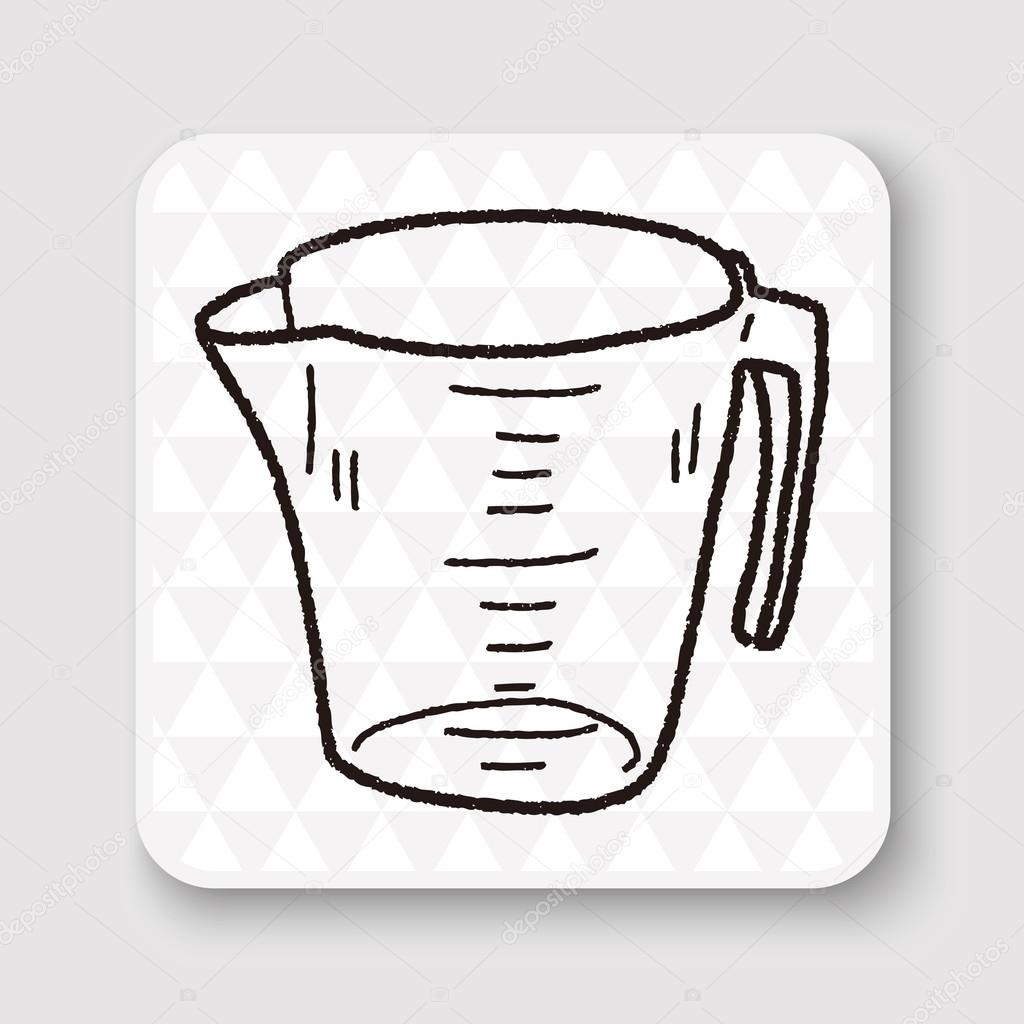 Measuring Cup Vector