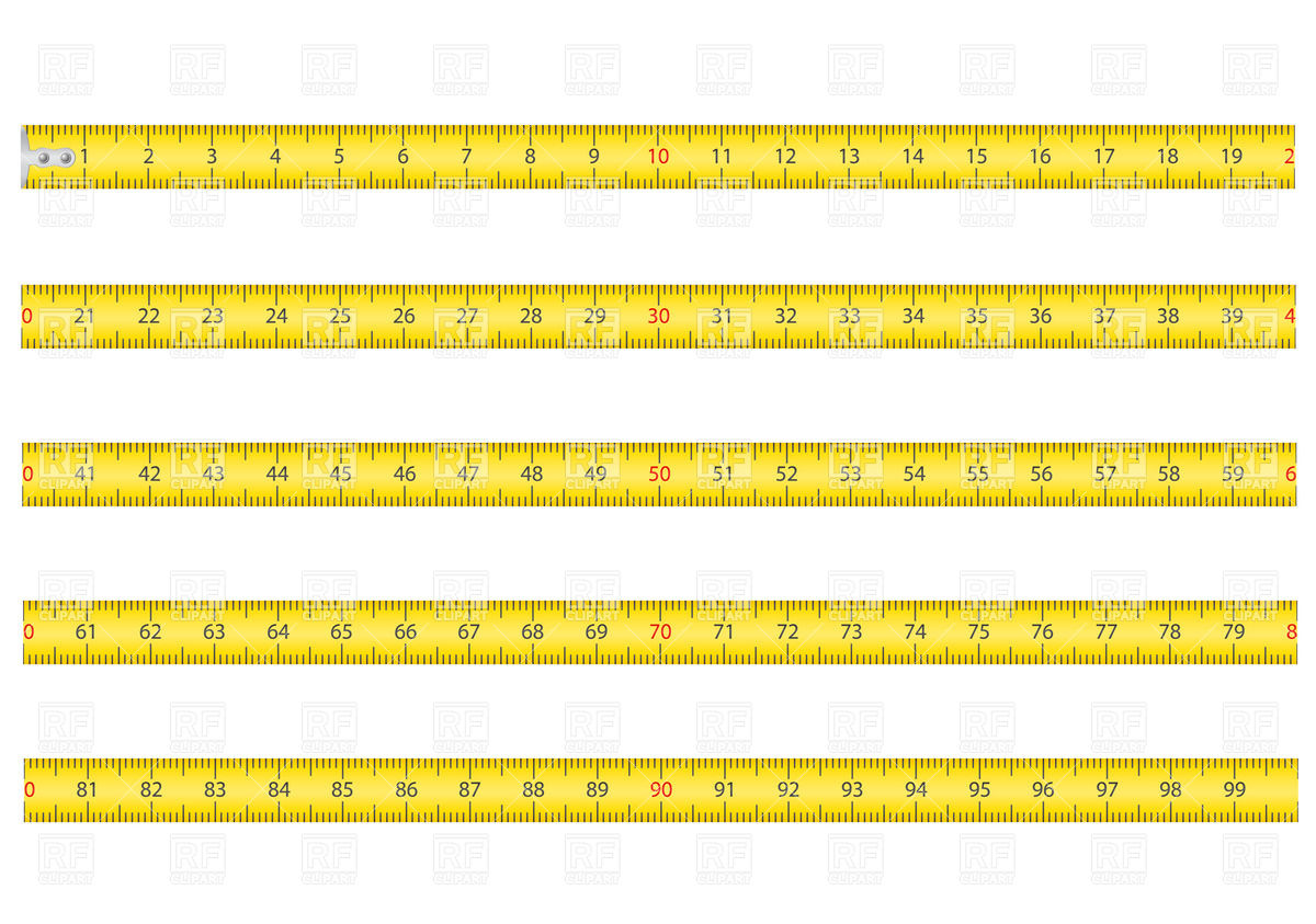1200x843 Measuring Tape Vector Image Vector Artwork Of Objects