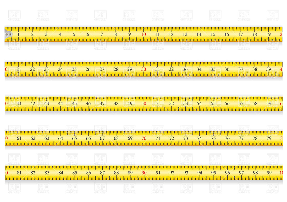 1200x843 Measuring Tape For Roulette Construction Vector Image Vector