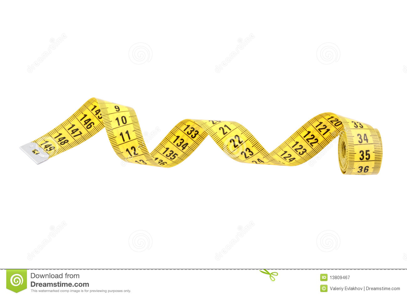1300x950 Tape Measure Clipart