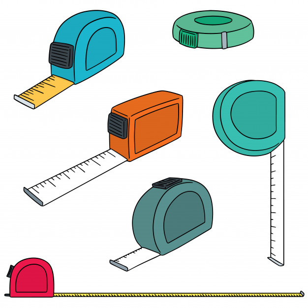 626x626 Vector Set Of Measuring Tape Vector Premium Download