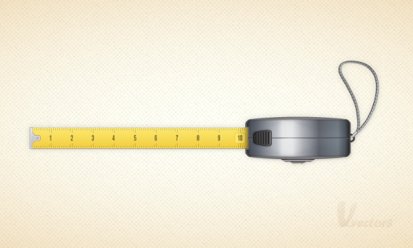 600x360 Create A Vector Tape Measure In Illustrator Cs5